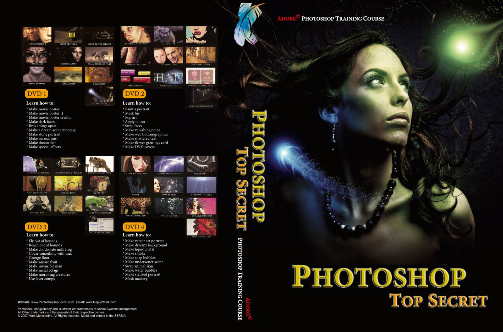 Photoshop top secret dvd 5 download pc